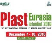 Plast Eurasia İstanbul 7-10 December 2016