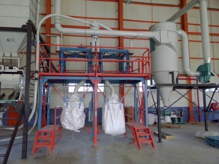 Double Station Big-Bag Filling Unit 4