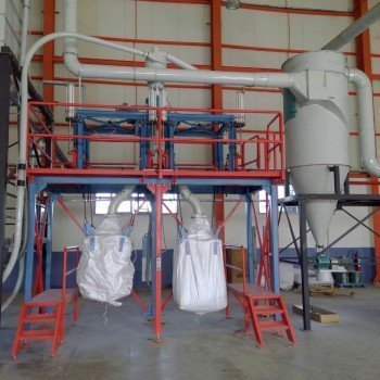 Double Station Big-Bag Filling Unit