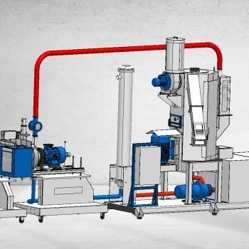 Underwater Granule Cutting System