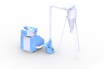 kırma makinesi ve silo