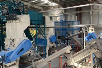 Pet geri dönüşüm tesisi 3/ton saat