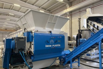 Shredder parçalama makinası plastik