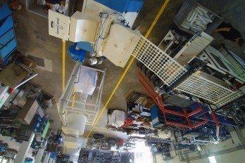 Termoform / in line kırma makinesi